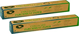 Beyond Gourmet Unbleached Non-Stick Parchment Paper, Made in Sweden, 71-Square-Feet, Set of 2