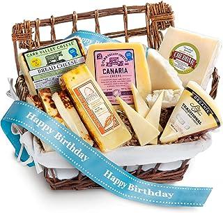 Happy Birthday Cheese Hamper Gourmet Gift Basket