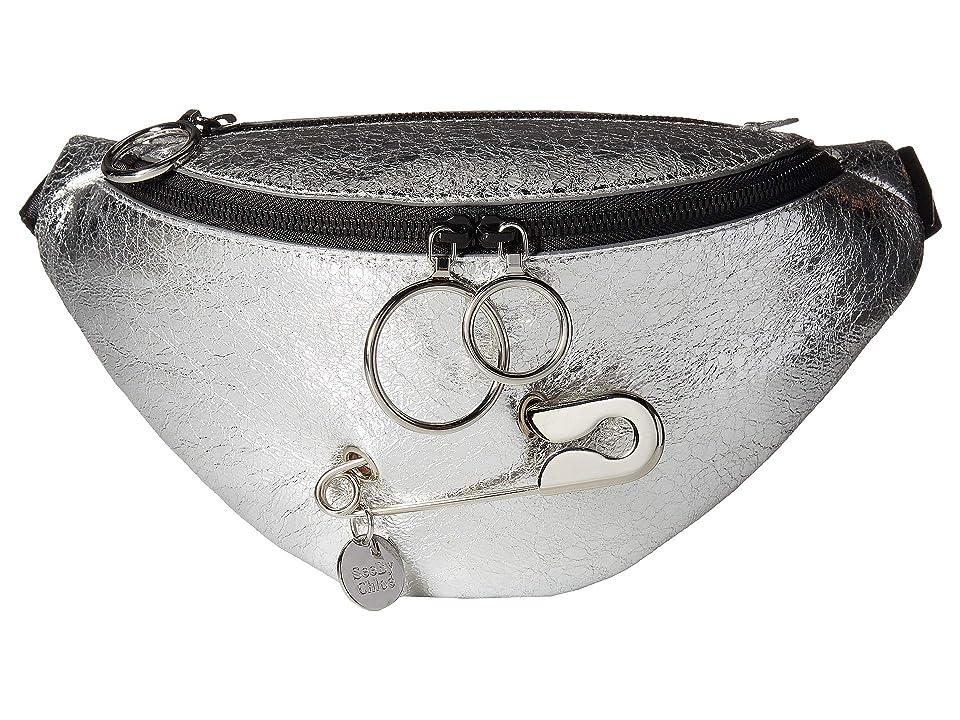 See by Chloe Mindy Fanny Pack (Silver) Cross Body Handbags