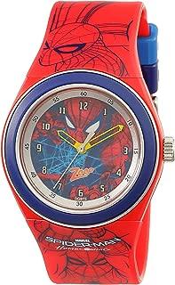Spiderman Analog Black Dial Unisex Watch - NKC4048PP15
