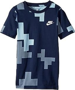 Nike Kids - Sportswear Abacus Futura T-Shirt (Little Kids/Big Kids)