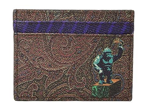 Etro King Kong Card Holder
