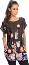Gotcha Covered Girl Designer Tunic Top Blouse Shirt