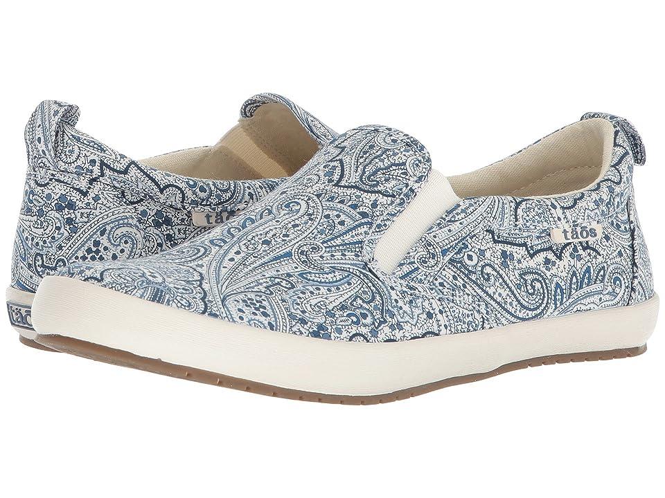 Taos Footwear Dandy (Blue Paisley) Women