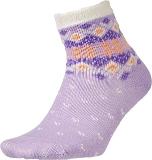 Field and Stream Youth Snowflakes Cozy Cabin Crew Socks
