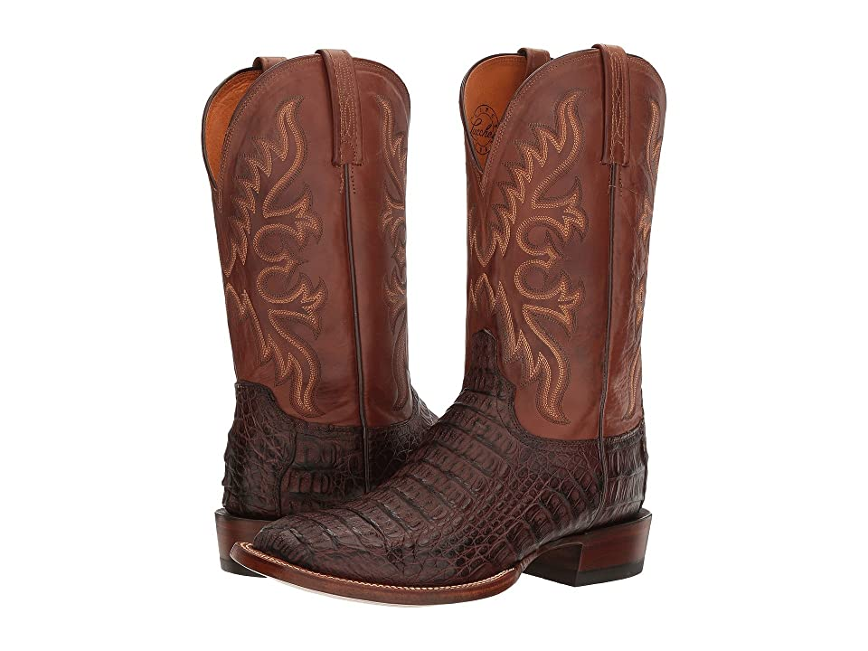 Lucchese Chavez (Barrel Brown) Cowboy Boots