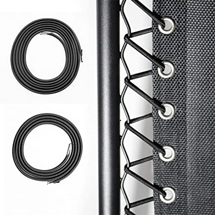 featured product Cross Land 4 Pcs Universal Replacement Cords/Strings for Zero Gravity Chair, Recliners,  Zero Gravity Chairs Repair Tool Kit for Lounge Chair/Anti Gravity Chair, Bungee Chair - One Chair Kit, Black-Dark