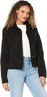 All About Eve Women's Hendrix Shearling Denim Jacket
