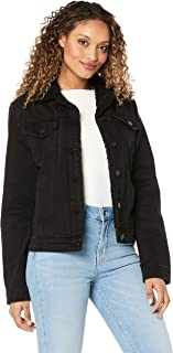 All About Eve Women's Hendrix Shearling Denim Jacket