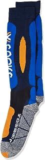X-Socks, Funktionssocken Ski Carving Silver Junior Calcetines funcionales, Unisex