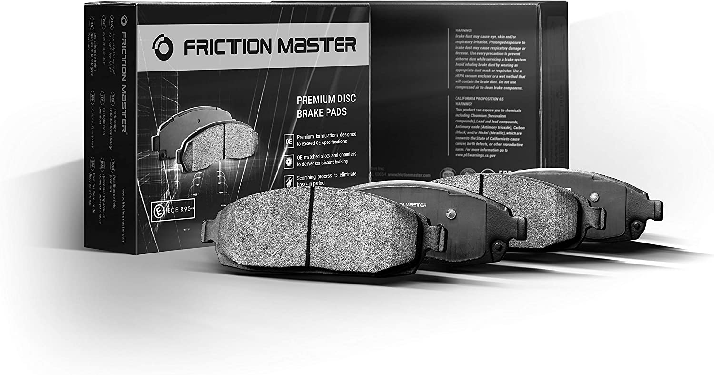 San Jose Mall Friction Master D1509 FrontPremium Ceramic Brake Disc Pad Cheap super special price Set 4