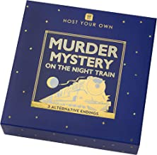 Talking Tables Christmas Xmas Murder Mystery On The Night Train Game | Play at Home with 5-12 Players