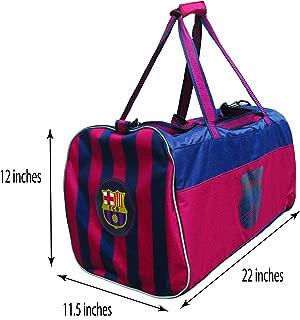 HKY Sportswear FC Barcelona Official Soccer Club Multi-Use Travel Duffle Bag
