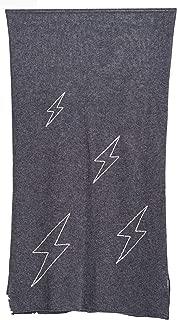 Sundry Lightening Bolt Loose Knit Scarf