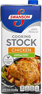 SwansonUnsalted Chicken Cooking Stock, 32 oz.