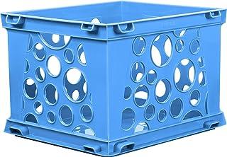 """Mini Crate 9""""X7.75""""X6""""-Blue"""