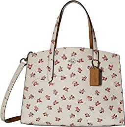 COACH - Charlie Carryall with Floral Bloom Print