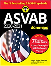 2020/2021 ASVAB For Dummies, Book + 7 Practice Tests Online + Flashcards + Videos