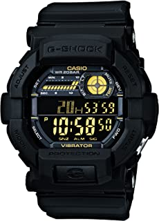 Casio Men's Dial Silicone Band Watch - GD-350-1BDR