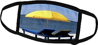 3dRose Beach Umbrella, Outer Banks, North Carolina - US34 MDE0012 -. - Face Covers (fc_93279_2)