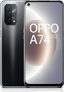 OPPO A74 5G Smartphone Dual SIM 128GB 6GB RAM, 6.5'' Display 18W Fast Charge 48MP AI Quad Camera 90Hz Display, Android Mob...