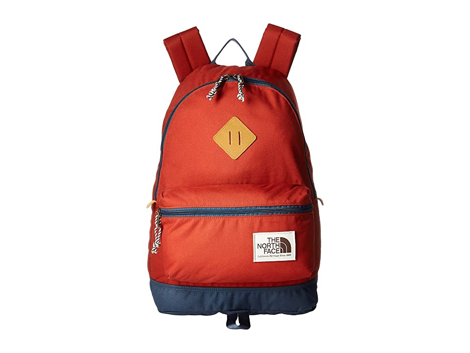 The North Face Berkeley Backpack (Bossa Nova Red/Conquer Blue) Backpack Bags