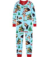 Wild About Christmas Union Suit (Toddler/Little Kids/Big Kids)