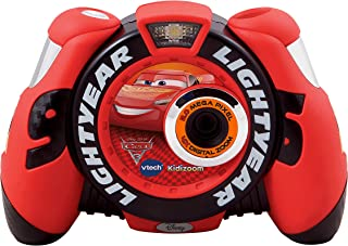 Cars 3 507303 Lightning McQueen Digital Camera, Red/Black