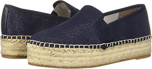 Baltic Navy New Shimmer Suede