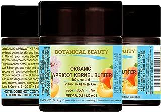 Sponsored Ad - ORGANIC APRICOT KERNEL OIL BUTTER Australian. 100% Natural/VIRGIN/UNREFINED/RAW. 4 Fl.oz.- 120 ml. For Skin...