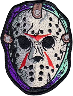 Jason Voorhees Horror Movie Friday 13Th Inspired Art Patch