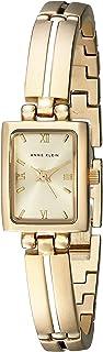 """ساعة للسيدات من """"ان كلاين"""" عملية رسمية لون ذهبي - 10-5404CHGB"""