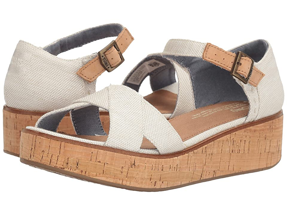 TOMS Harper Wedge (Natural Yarn-Dye) Women