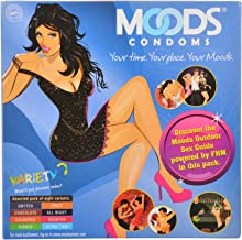 Moods Variety Pack - 16 Condoms (Pack of 2)