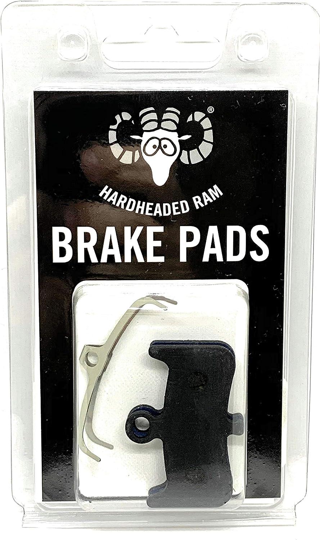 The Bicycle Replacement Part for OEM Brakes for high Braking Power Hardheaded Ram Bike Brake Pads Organic sintered for All Hope Like E4 1 Resin K002 Tech 3 E4 Brakes 98-36141 106F8355