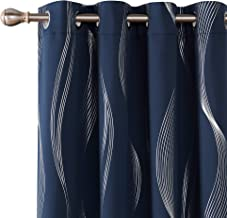 Best red and navy striped curtains Reviews