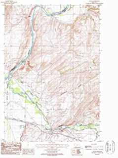 YellowMaps Logan MT topo map, 1:24000 Scale, 7.5 X 7.5 Minute, Historical, 1987, Updated 1988, 27 x 22 in