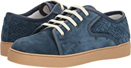 Bottega Veneta - Dodger Suede Lace-Up Sneaker