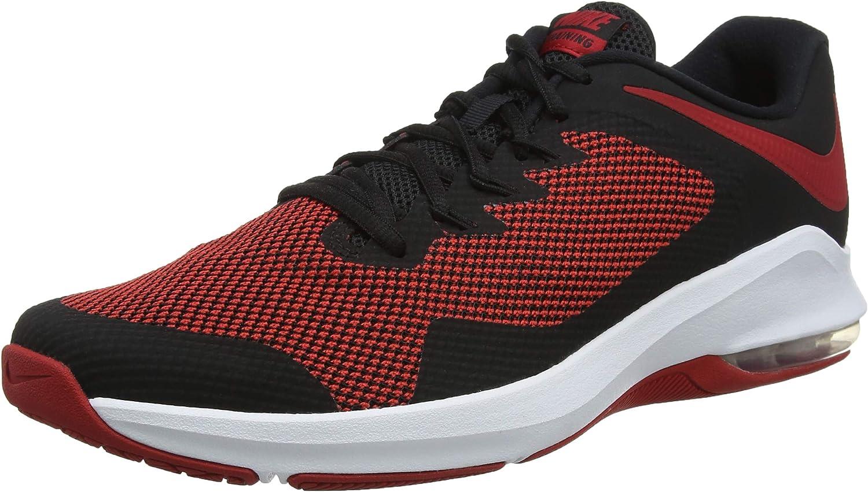 Nike Men's Air Max Alpha Trainer, Black Gym RED