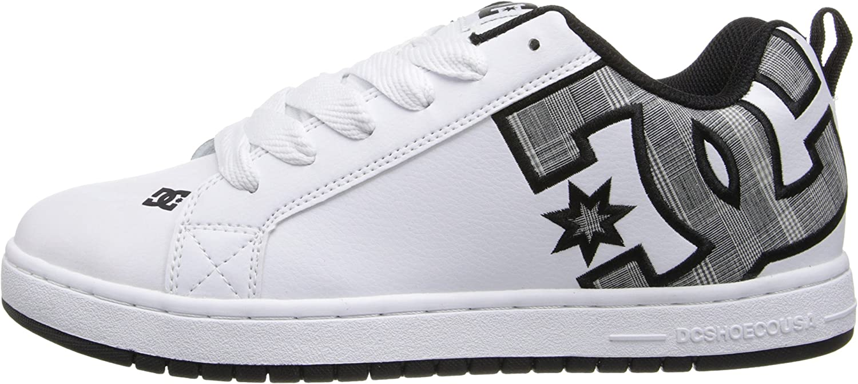 DC Mens Court Graffik Se Skate Shoe
