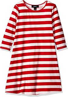 red and white dress casual