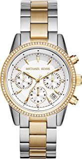 Michael Kors Ritz Two-Tone Chronograph Watch