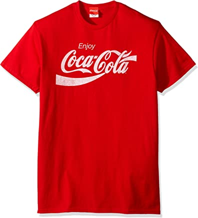 Coca-Cola Mens COKE0005 Eighties Coke Short Sleeve T-Shirt Short Sleeve T-Shirt