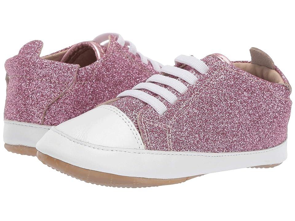 Old Soles Eazy Jogger (Infant/Toddler) (Glam Pink/Snow) Girl