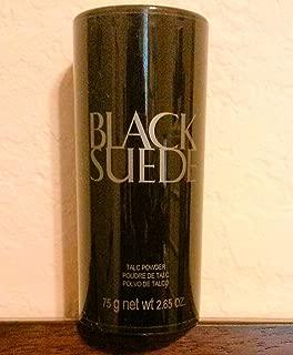 Black Suede Talc Powder for Men By Avon