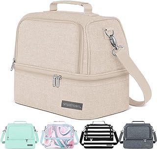 Simple Modern MYR-8-TAN 8L Myriad Bag for Women & Men-Beige Insulated Kids Lunch Box, Tan