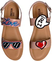 LOVE Moschino - Sandals w/ Patches