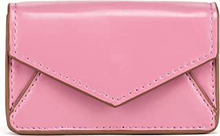 About Face Designs Dusty Pink Rose Belmont Small Faux Leather Card Case