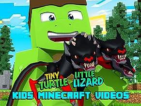 Clip: Little Lizard & Tiny Turtle - Kids Minecraft Videos