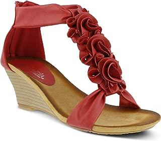 Women's Harlequin Wedge Sandal